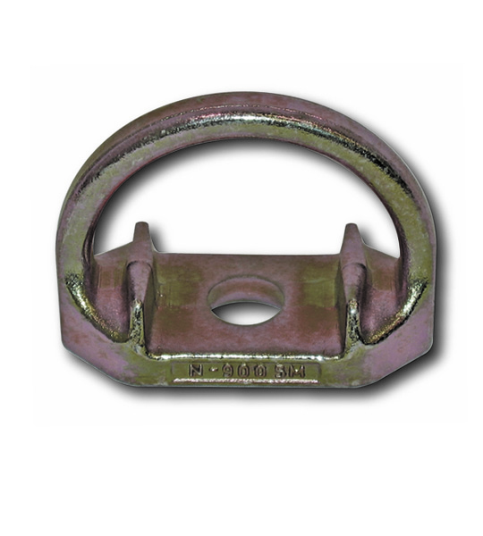 GUARDIAN FALL PROTECTION 00360 Anchor Plate, D-Ring, 2 Hole, Stainless Steel Plate