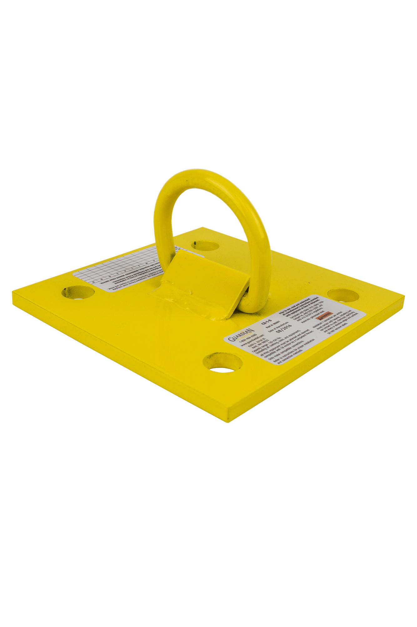 GUARDIAN FALL PROTECTION 00512 Single D-Ring Anchor