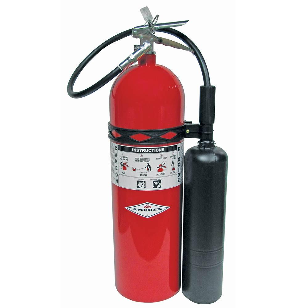 Amerex 423 Fire Extinguisher, Dry Chemical Monoammonium Phosphate, 20 lbs, 10A:120B:C, Steel Cylinder