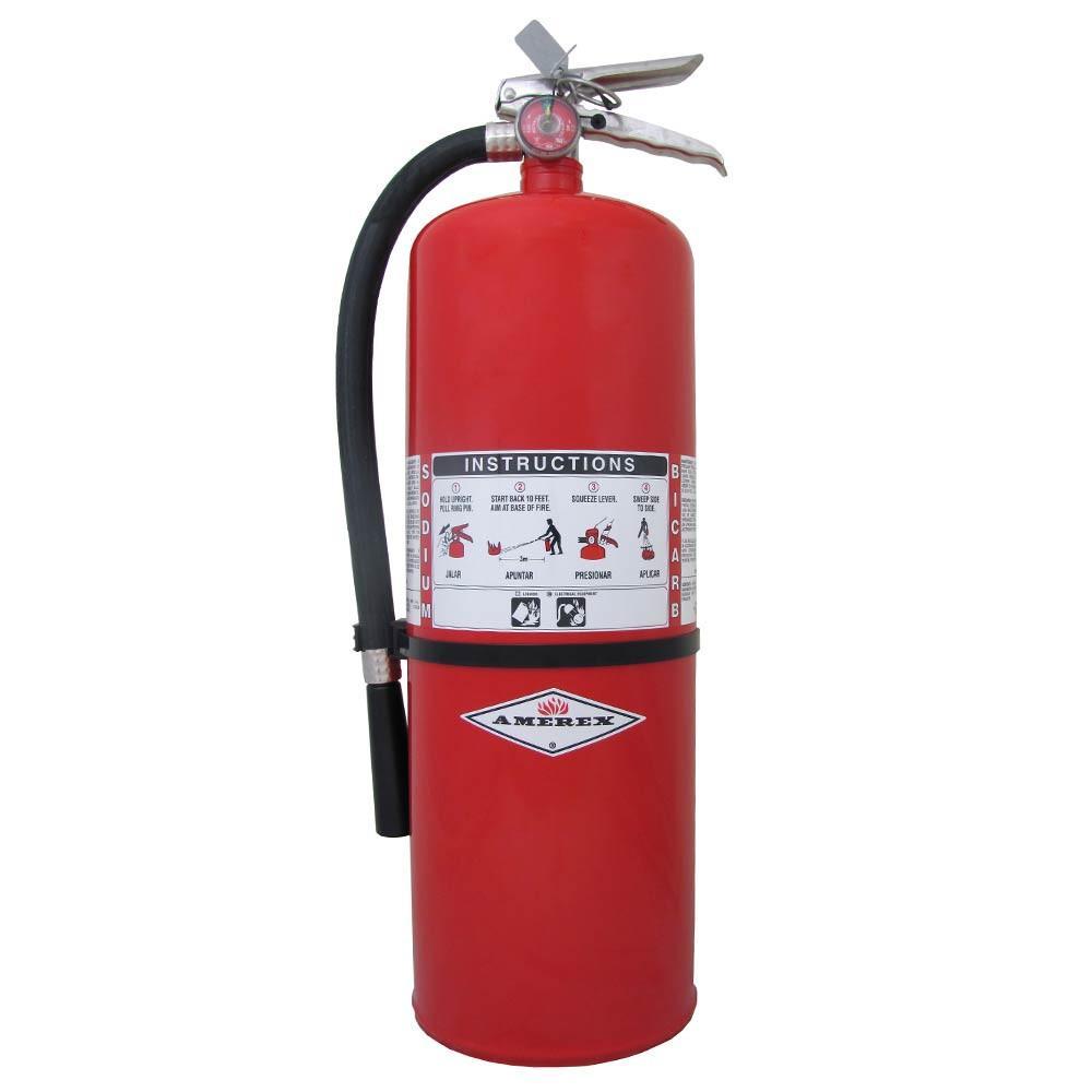 Amerex 861 Fire Extinguisher Bracket, 5 lbs, Steel, Red
