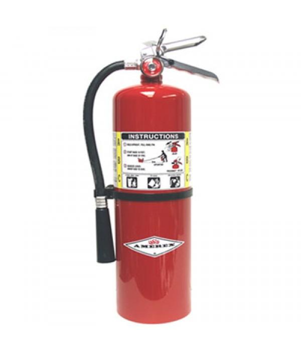 Amerex B397 Fire Extinguisher, Halotron I Clean Agent Hydrochlorofluorocarbon , 11 lbs, 1A:10B:C