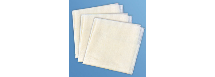 Berkshire CPSVP.0909.8 CapSure®-VP Series Cleanroom Wipe, Sealed Edge Laundered, 9 in WD X 9 in LG, White, 100 % Knitted Polyester, 150 Sheets