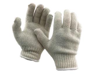 Diamond M DM-GL11200 Brown Jersey Gloves, Knit Wrist, Large, Brown