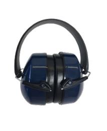 Diamond M DM-HP10210 Reusable Insert and Twist Corded Ear Plug, 30 db, Orange Plug, Blue Cord