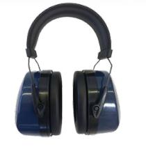 Diamond M DM-HP10201 Disposable Corded Ear Plug, 32 db, Orange Plug, Blue Cord