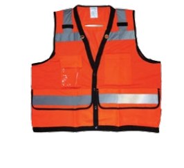 Diamond M, DM-RF20101, 20100 Series Vest, Non-Rated,Universal Size, Hi Vis Orange