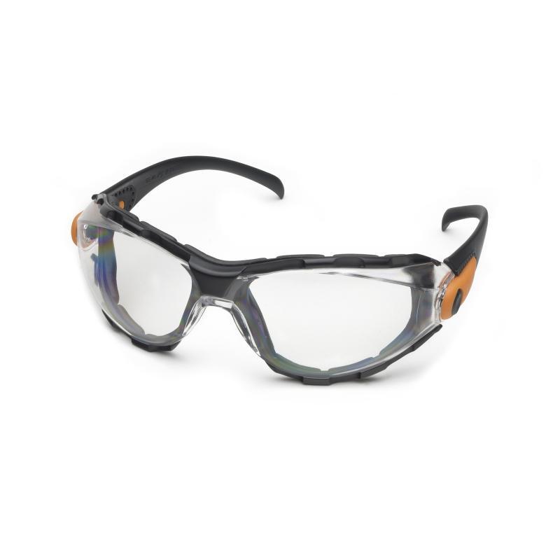 Elvex® GG-35-AF Visionaire¿¿¿ GG35 Series Protective Goggle, Indirect Vent , Clear Lens, Universal, SuperCoat Anti-Fog Lens Coating, PVC Frame, Polycarbonate Lens