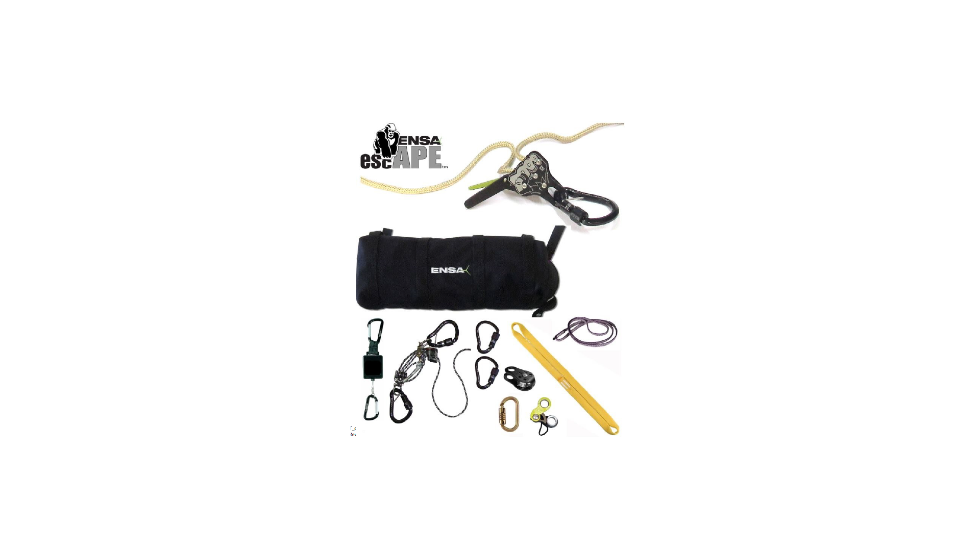 ENSA ENSA-APEBAG100M APE Bag Assembly, For APE Systems 100 m Rope