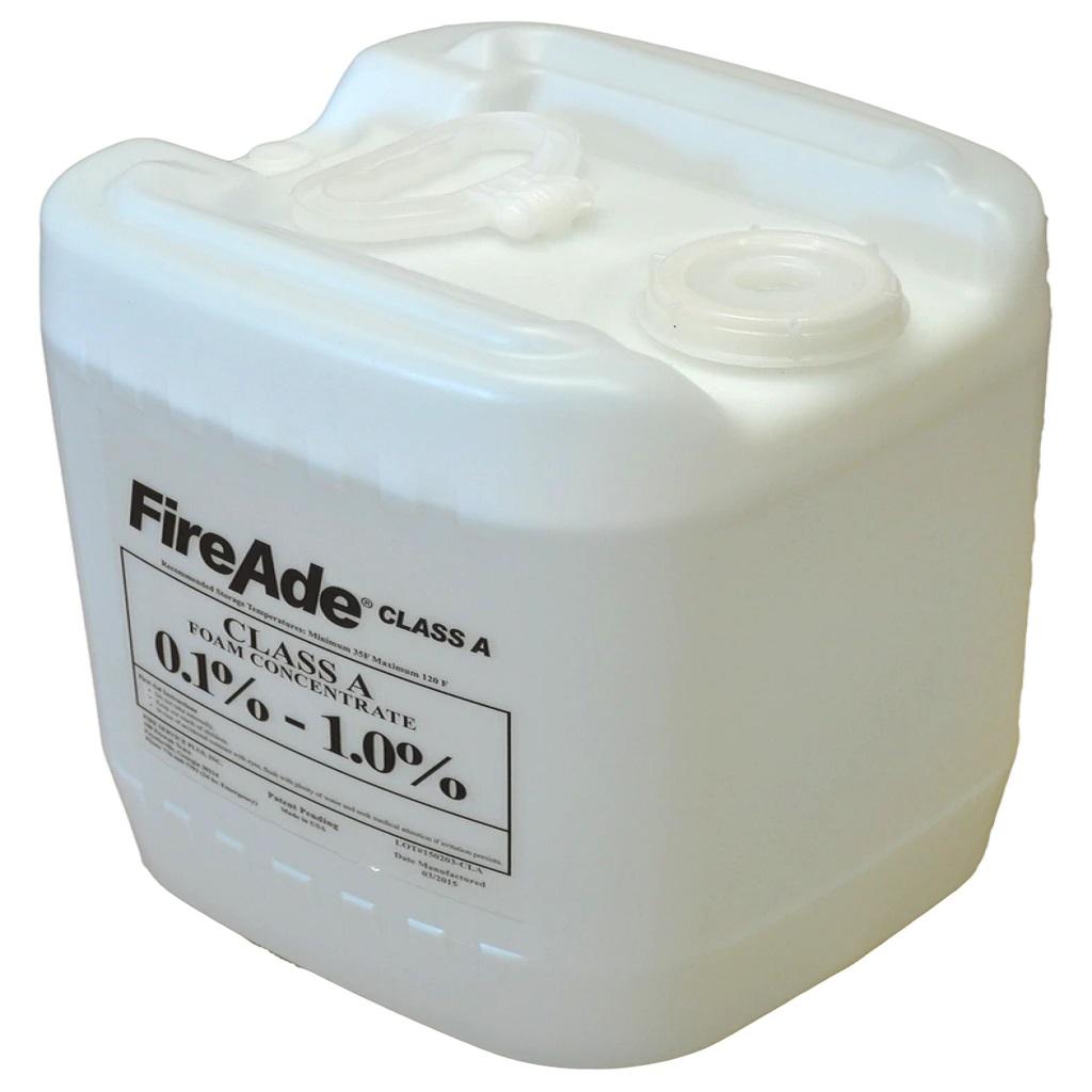 FireAde® FA2-055 2000 Plus Class A/B Foam Concentrate, Liquid, 55 gal Drum, Clear Light Red