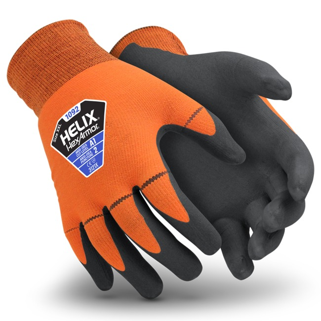 North Star Glove #2408 General Purpose Gloves, Double Ply, Men's Oversized Large, Cotton Canvas
