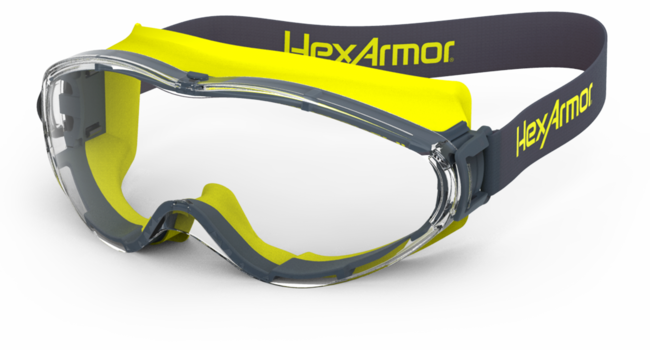 HexArmor® 11-20001-11 MX400P Series Safety Glass, Polarized, Anti-Scratch Lens Coating, Grey Polarized Lens