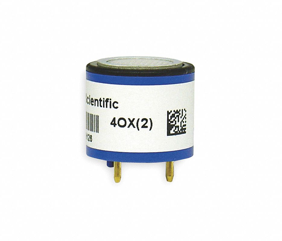 "Industrial Scientific 17124975-2 Replacement Sensor, Hydrogen Sulfide, 0 to 500 ppm, For MX6 iBridâ""¢ Multi-Gas Detectors"