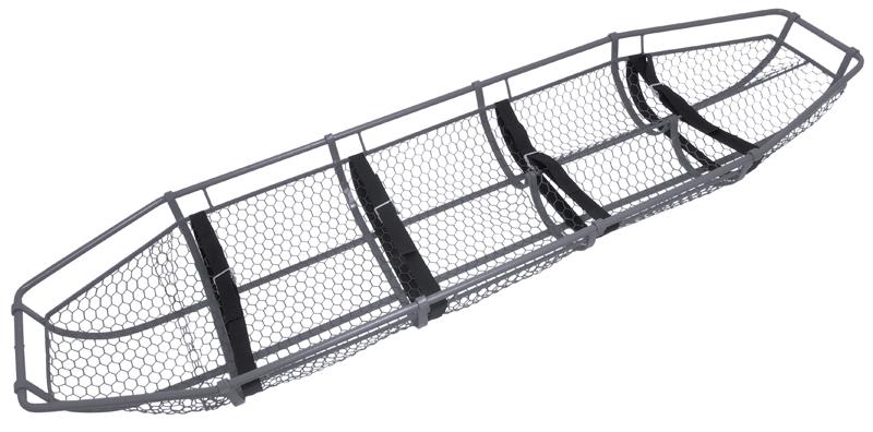 Junkin, JSA-300, Stretcher, Splint/Basket With Leg Divide, 1500 lb, Steel, Gray