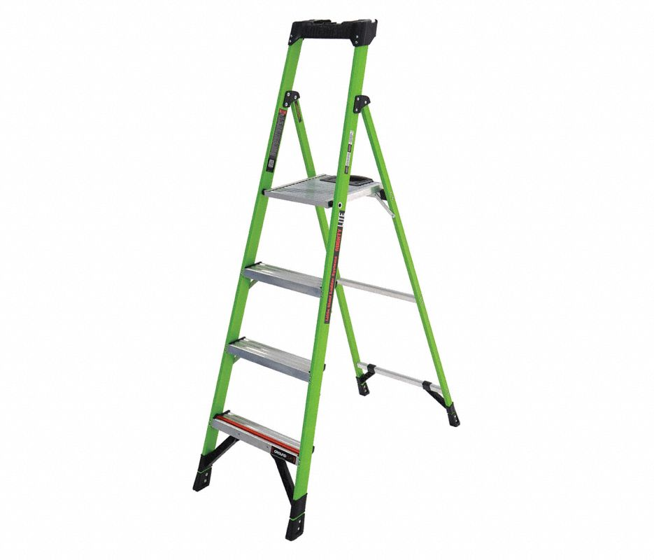 Little Giant® 15296-001 Combo SXE Articulating Ladder, Multipurpose, 12 ft, 375 lbs, IAA ANSI, Fiberglass