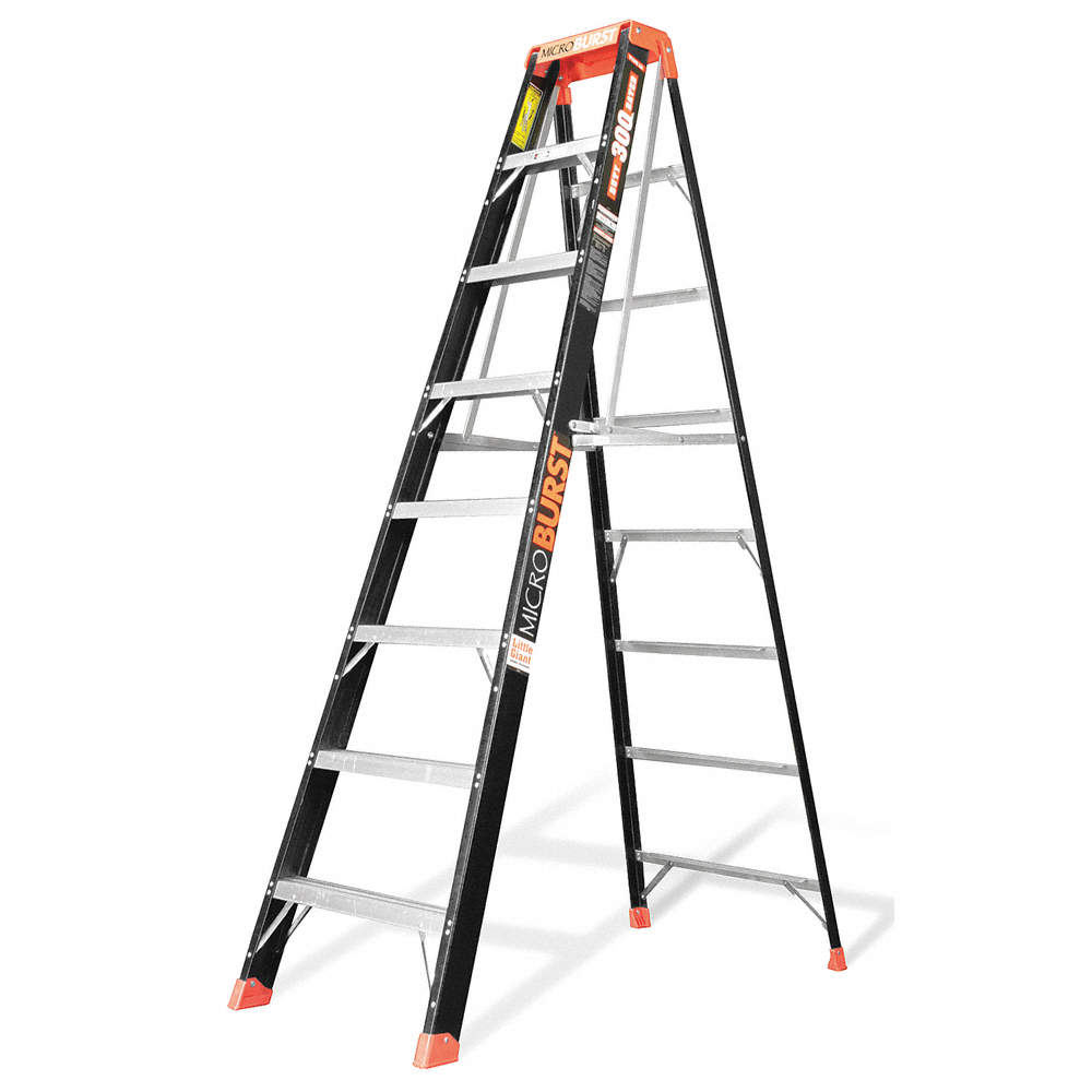 Little Giant® 15646-009 Lunar 28 ft Extension Ladder, 375 lbs, IAA ANSI, Fiberglass