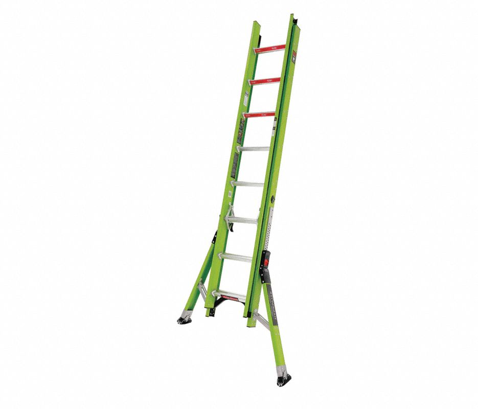 Little Giant® 15710-001 Microburst Platform 7-Step Ladder, 8 ft, 300 lbs, IA ANSI, Fiberglass