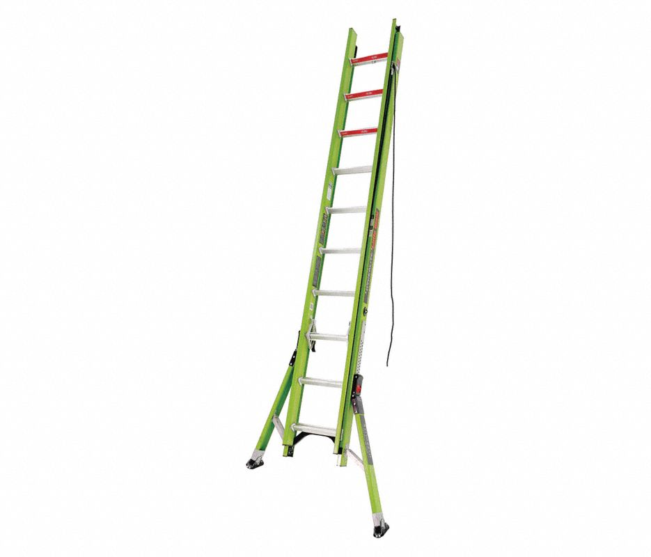 Little Giant® 17216 HyperLite Sumo 16 ft Extension Ladder, IAA ANSI, 375 lbs, Fiberglass