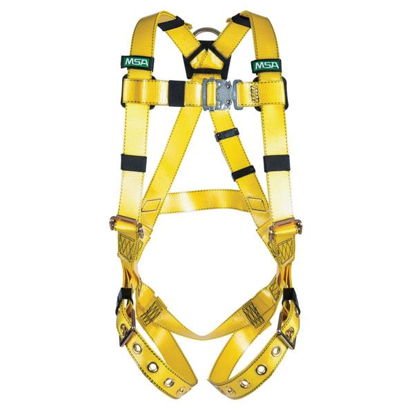 Gravity® 10150454 Suspension Harness, M, Quick-Connect Leg Strap Buckle, Padding Shoulder Strap Buckle, Green