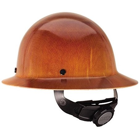 Skullgard® 475407-BL42526 Protective Hard Hat with Walsh Logo, Full Brim Style, 11 in WD X 5.25 in LG X 8.5 in HT, 6.5 - 8 in Fits Hat, Phenolic Shell, Natural Tan