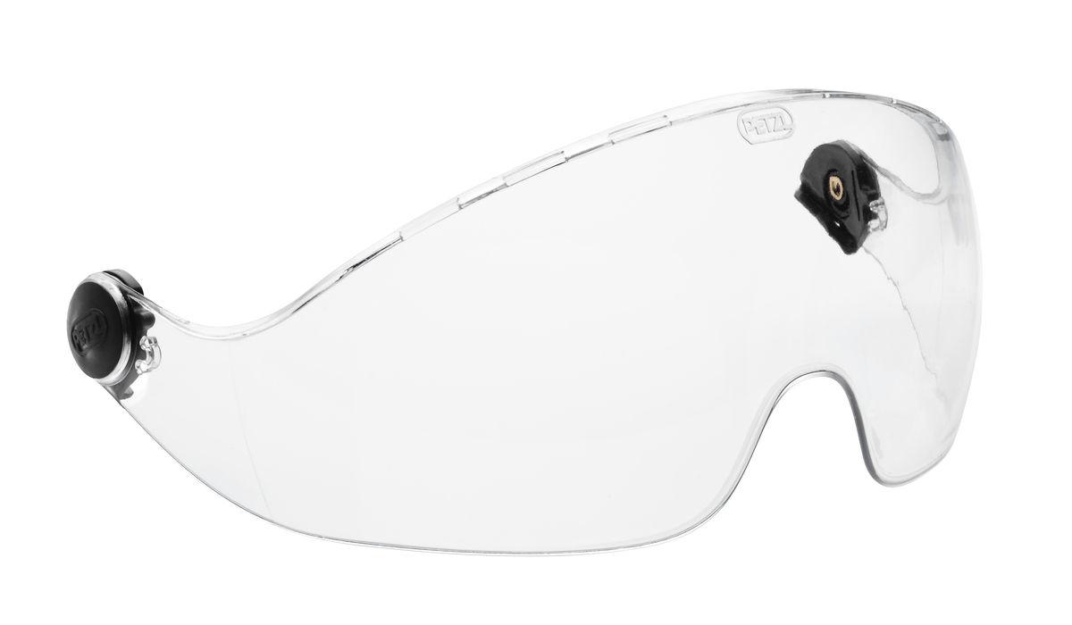 Petzl® A14 Vizen Full Faceshield, With Electrical Protection, For Vertex and Alveo Helmets, ANSI Z87.1-2010, GS ET-29, Class 1, CE EN 166, 1BT8, CE EN 170, 2C-1,2