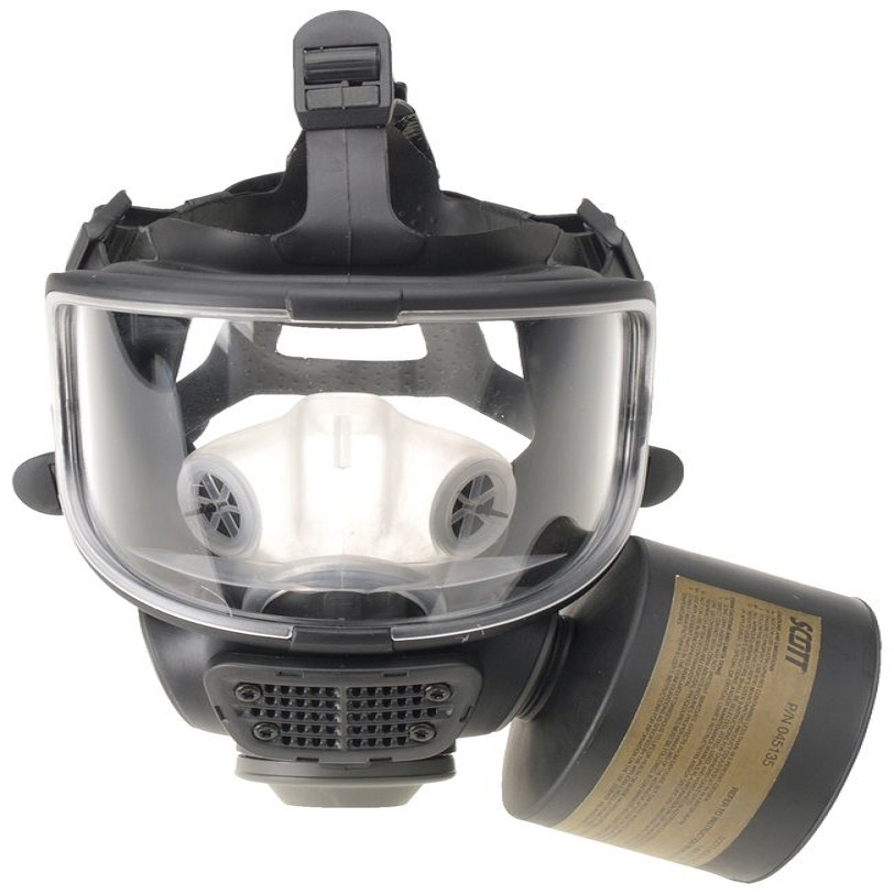 Scott Safety 012698 AV-3000 Lens Cover, For Use With Promask 25 Facepiece, Clear, Plastic