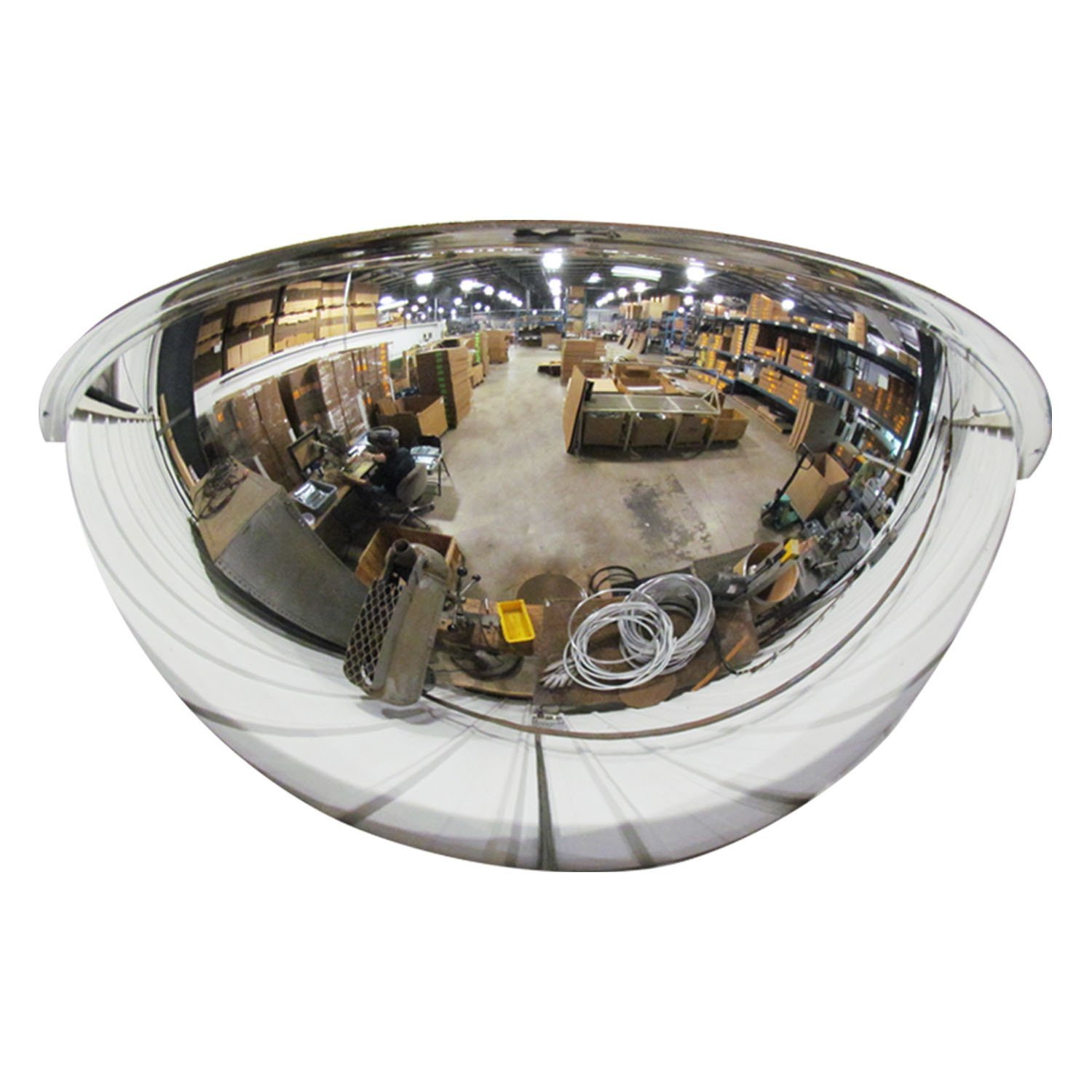 Se-Kure DCVO26TPB 26 in Outdoor Convex Mirror, Acrylic Lens, Plastic Backing