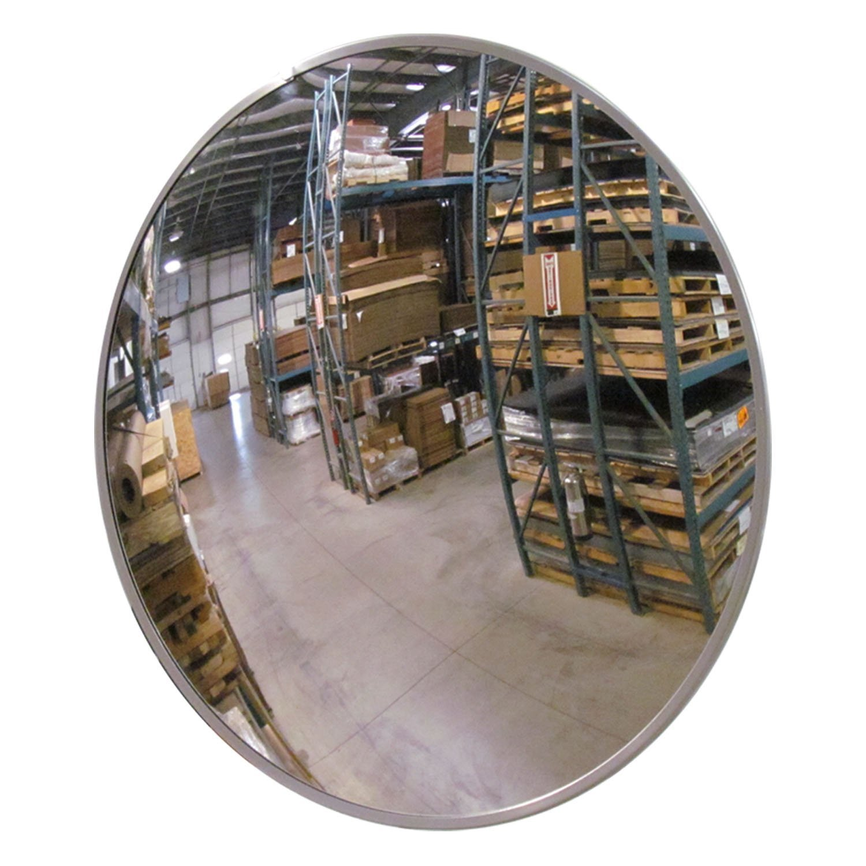 Se-Kure RTH-20X30 Roundtangular Mirror, 30 in, Acrylic Lens, Hardboard Backing