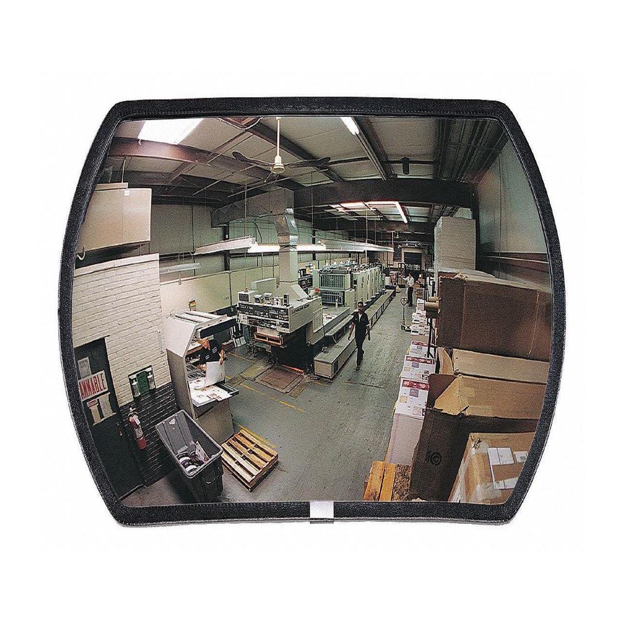 Se-Kure SCVO-36TPB 36 in Outdoor Convex Mirror, Acrylic Lens, Plastic Backing