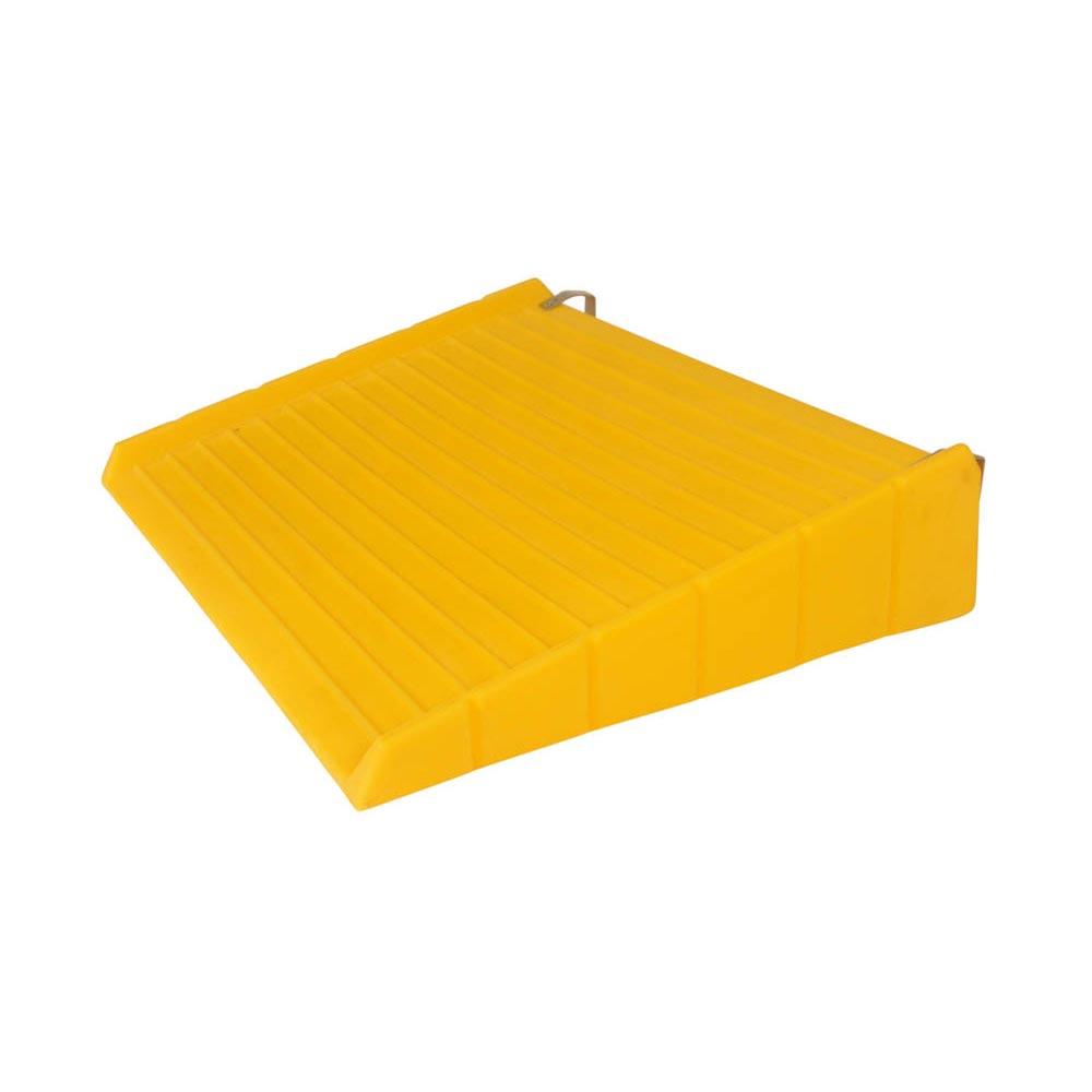 UltraTech 1086 Ultra-Spill Deck, 5-3/4 in H X 52 in L X 25-7/8 in W, Polyethylene, Yellow