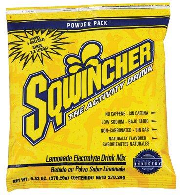 Sqwincher® 016001-CH Powder Pack™ Sports Drink Mix, 9.53 oz Pack, 1 gal Yield, Powder Form, Cherry