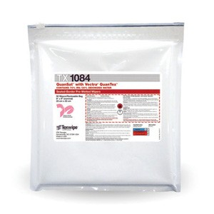 """Texwipe® TX1080 Vectra® QuanTexâ""""¢ Cleanroom Wipe, Dry, 9 X 9 in, Polyester"""