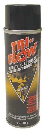 Tri-Flow® TF20025 Multi-Purpose Superior Lubricant, 8 oz Aerosol Can, Liquid Form, Brown, 0.78