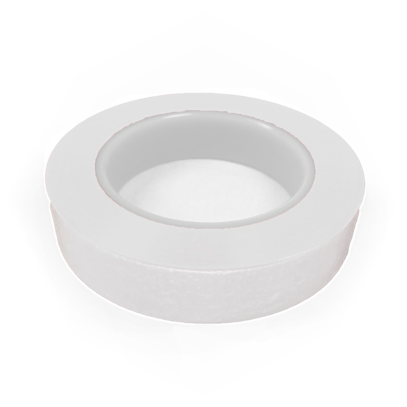 UltraTape 0110WH200-P3H 0110WH-P3H Series Cleanroom Tape, Medium High Adhesion, 36 yd LG X 2 in WD X 4.5 mil THK, White, Polyethylene Backing, 11 lb/in Tensile Strength
