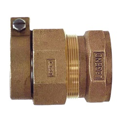 Brass Pipe Compression Adapters