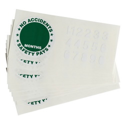 Hard Hat Labels & Reflective Strip