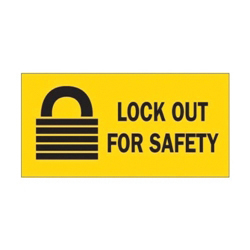 Lockout Tagout Signs & Labels