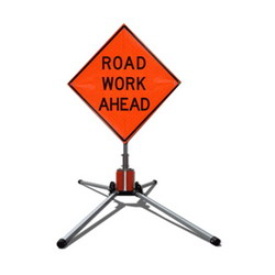 Road Construction Sign Stands