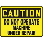 Maintenance & Repair Signs