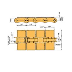 Flat Top Conveyor Chains