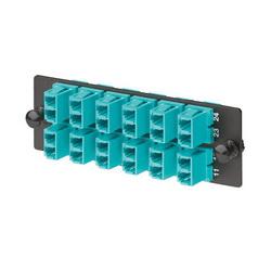 Fiber Optic Patch Panels - Loaded