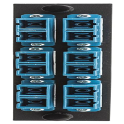 FO Patch Panel Connector Adapter, Loaded