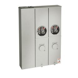 Meter Socket Circuit Breaker Combination