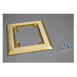 Floor Box Flanges
