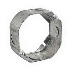 Octagon Box Plaster/Mud Rings