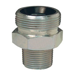 Dixon Valve STB20 Unplated Steel Shank//Water Fitting 1-1//2 Hose ID Barbed 1-1//2 Hose ID Barbed Dixon Valve /& Coupling King Combination Nipple with Beveled End