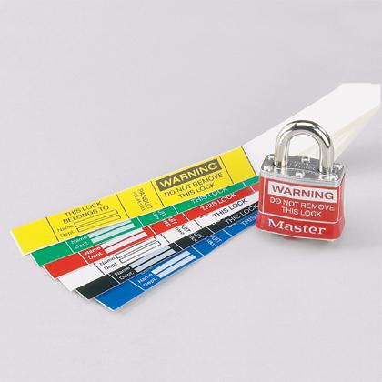 Padlock Labels