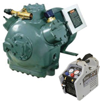 Refrigeration Equipment & Compressors
