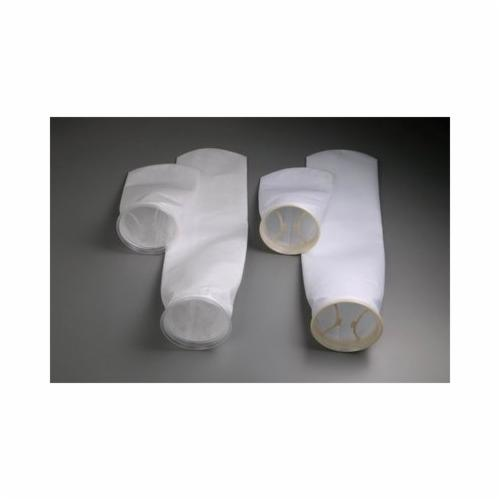 3M™ 016145-18100 NB Filter Bag, 32 in L Filter Bag, 180 gpm, 180 deg F, 5 micron