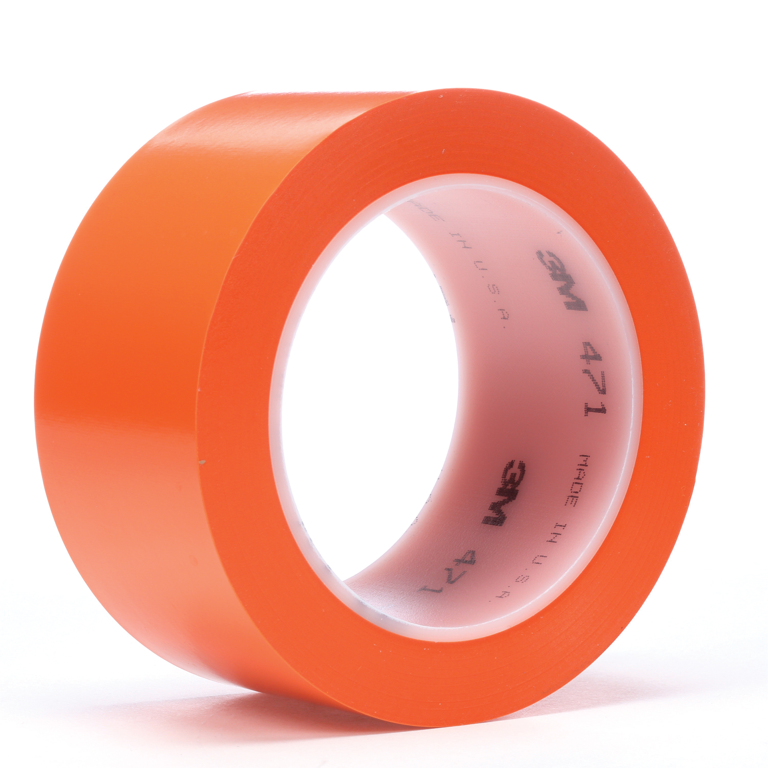 3M™ 021200-03135 High Performance Vinyl Tape, 36 yd L x 3/4 in W, 5.2 mil THK, Rubber Adhesive, Vinyl Backing, White
