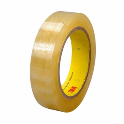 3M™ 021200-04294 415 Non-Repulpable Double Coated Splicing Tape, 36 yd L x 2 in W, 4 mil THK, 400HT Acrylic Adhesive, Polyester Film Backing, Clear